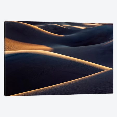 Death Valley Structures Canvas Print #STF41} by Stefan Hefele Canvas Print