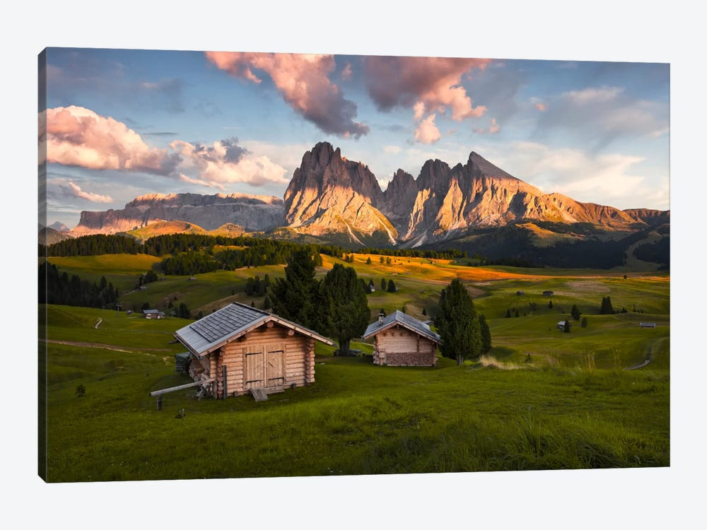 Dolomites by Stefan Hefele 1-piece Canvas Wall Art
