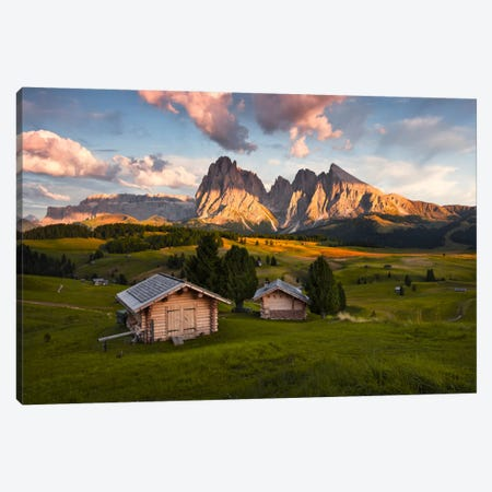 Dolomites Canvas Print #STF44} by Stefan Hefele Canvas Art