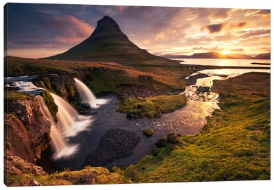 Dreaming Of Iceland Canvas Art Print