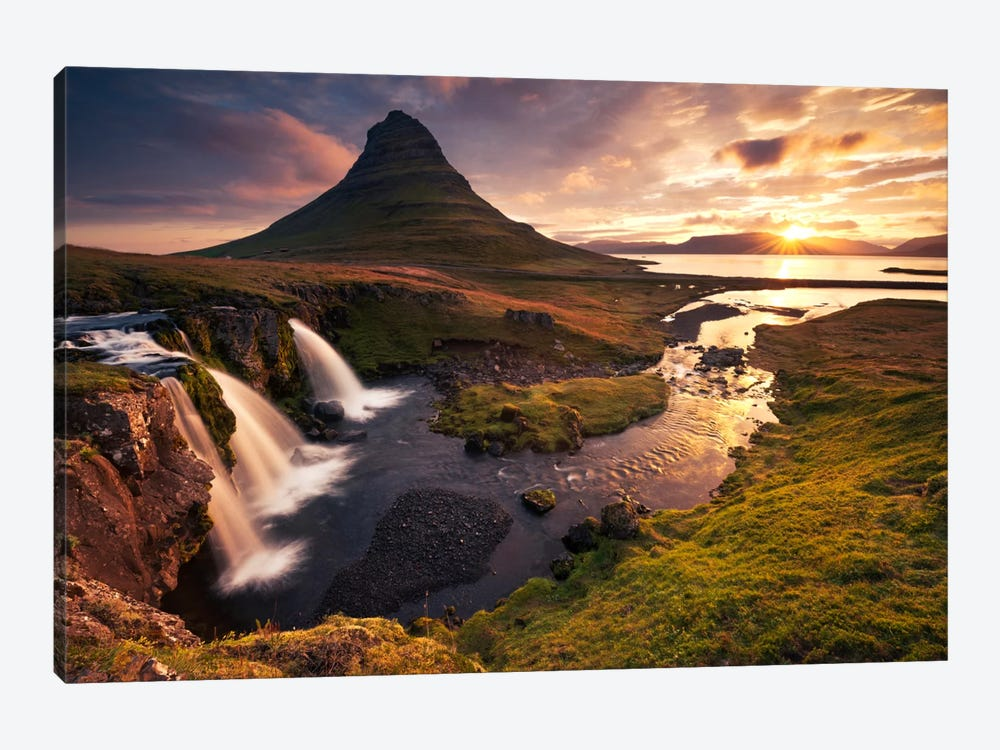 Dreaming Of Iceland by Stefan Hefele 1-piece Canvas Print