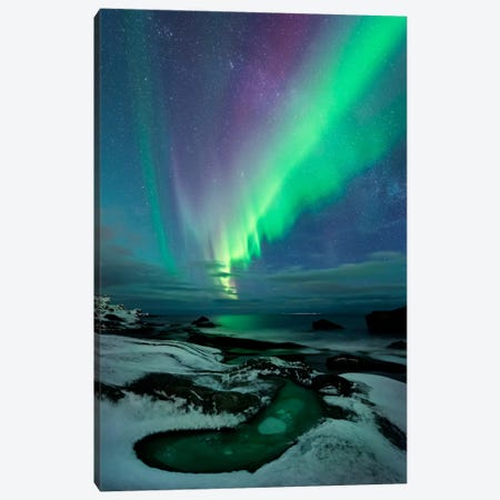 Epic Creation Canvas Print #STF52} by Stefan Hefele Canvas Wall Art