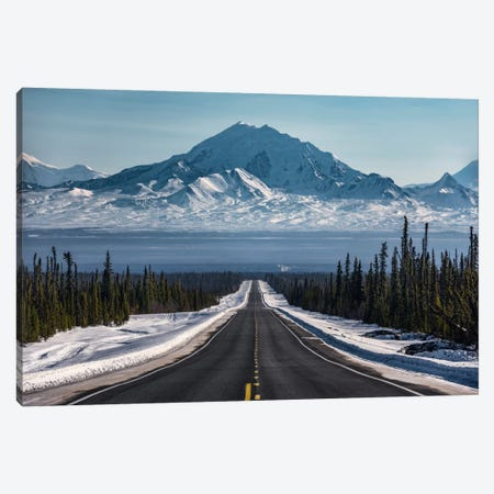 Alaska Road Trip Canvas Print #STF5} by Stefan Hefele Art Print