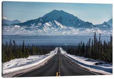 Alaska Road Trip Canvas Art Print