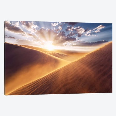 Gently Touched Canvas Print #STF67} by Stefan Hefele Canvas Artwork