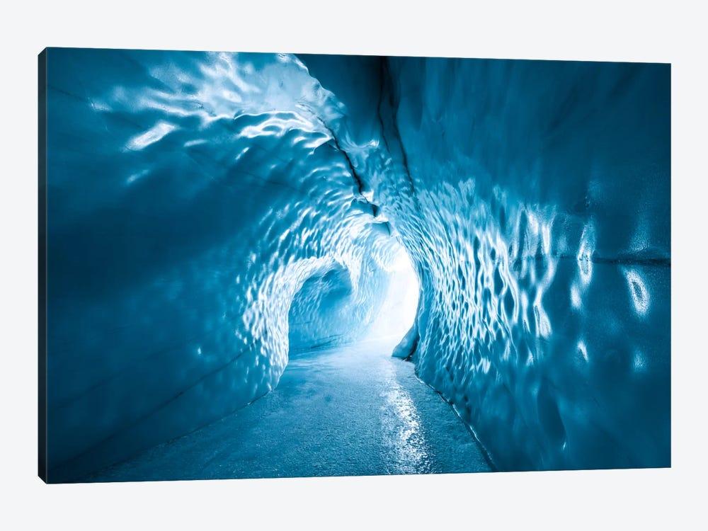 Glacier Throat - Alaska by Stefan Hefele 1-piece Canvas Artwork