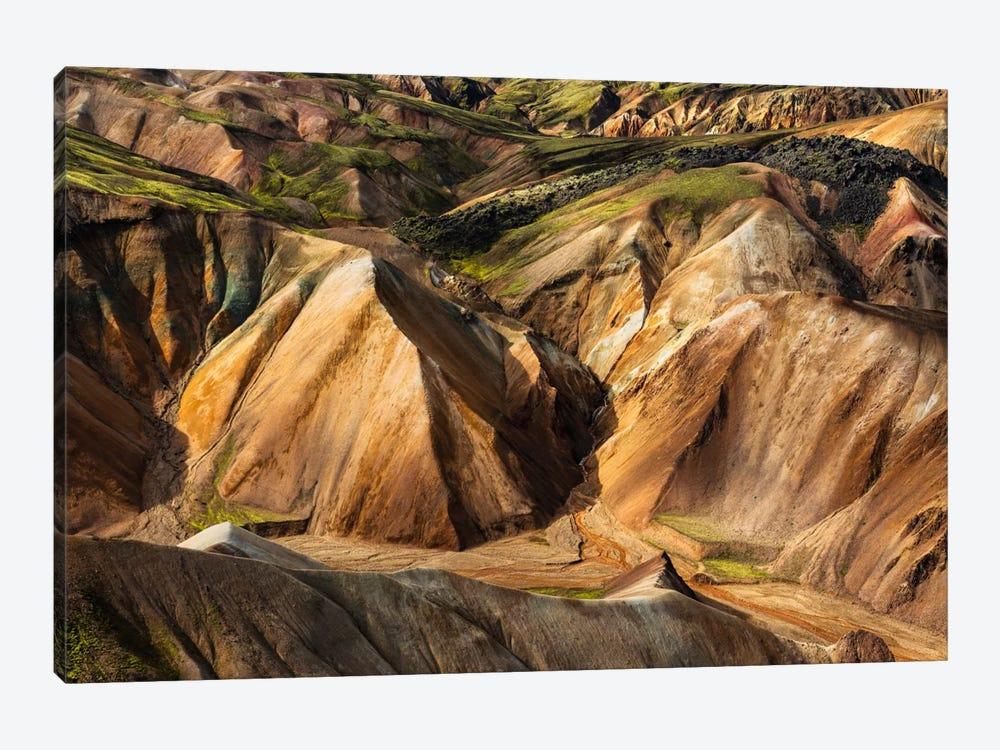 Glowing Iceland by Stefan Hefele 1-piece Canvas Art Print