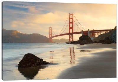 Golden Gate Canvas Art Print