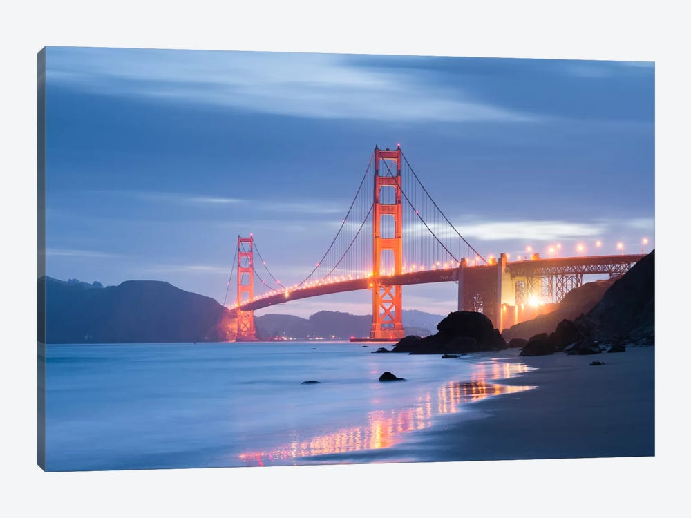 Golden Gate Blues by Stefan Hefele 1-piece Art Print