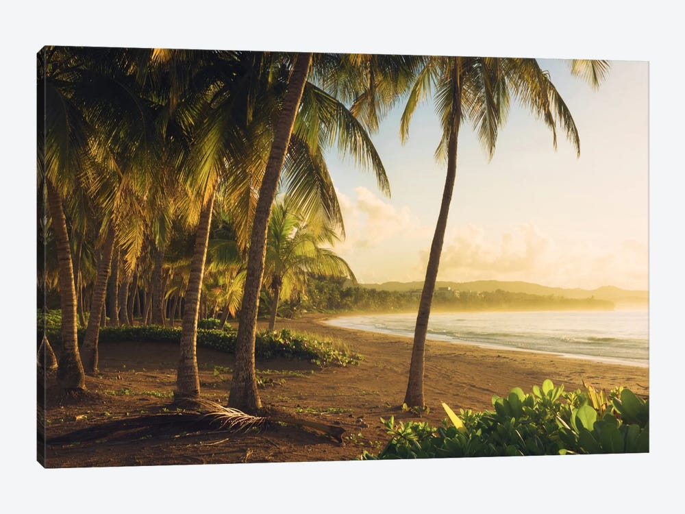 Golden Lands - Puerto Rico by Stefan Hefele 1-piece Canvas Artwork