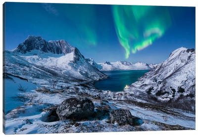 I LOVE Norway Canvas Art Print