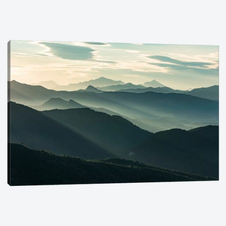 Alpine Magic Canvas Print #STF8} by Stefan Hefele Canvas Art