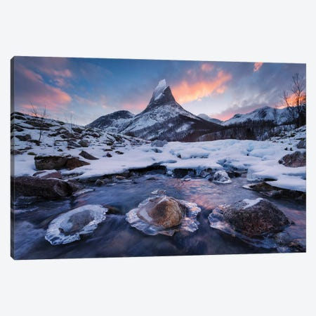 King Of The North Canvas Print #STF93} by Stefan Hefele Canvas Wall Art