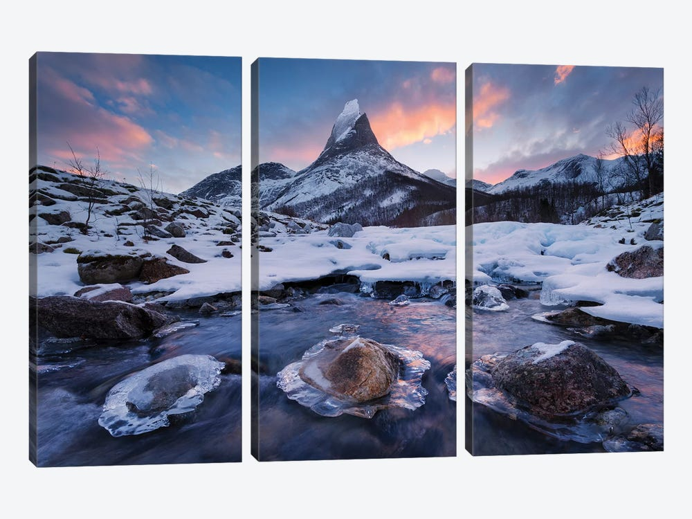 King Of The North by Stefan Hefele 3-piece Canvas Art