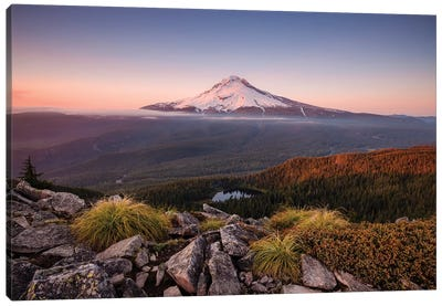 Kingdom Of A Mountain - Mount Hood, Oregon Canvas Art Print