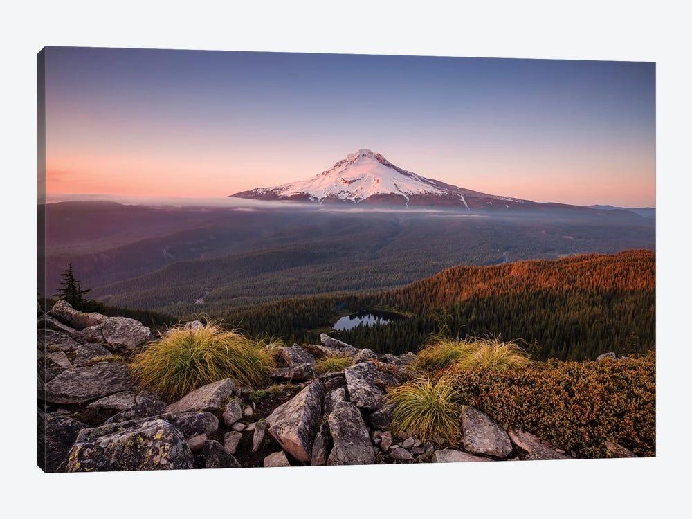 Kingdom Of A Mountain - Mount Hood, Oregon by Stefan Hefele 1-piece Canvas Art Print
