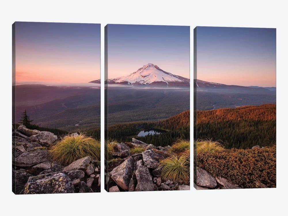 Kingdom Of A Mountain - Mount Hood, Oregon by Stefan Hefele 3-piece Art Print