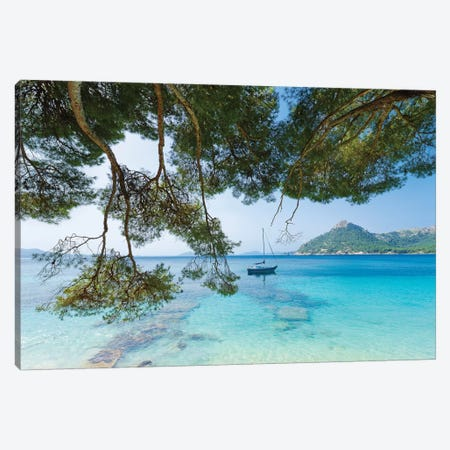 Kissed By The Sea Canvas Print #STF95} by Stefan Hefele Art Print