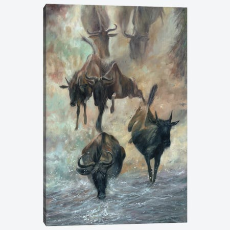 The Great Migration 3-Piece Canvas #STG221} by David Stribbling Canvas Art Print