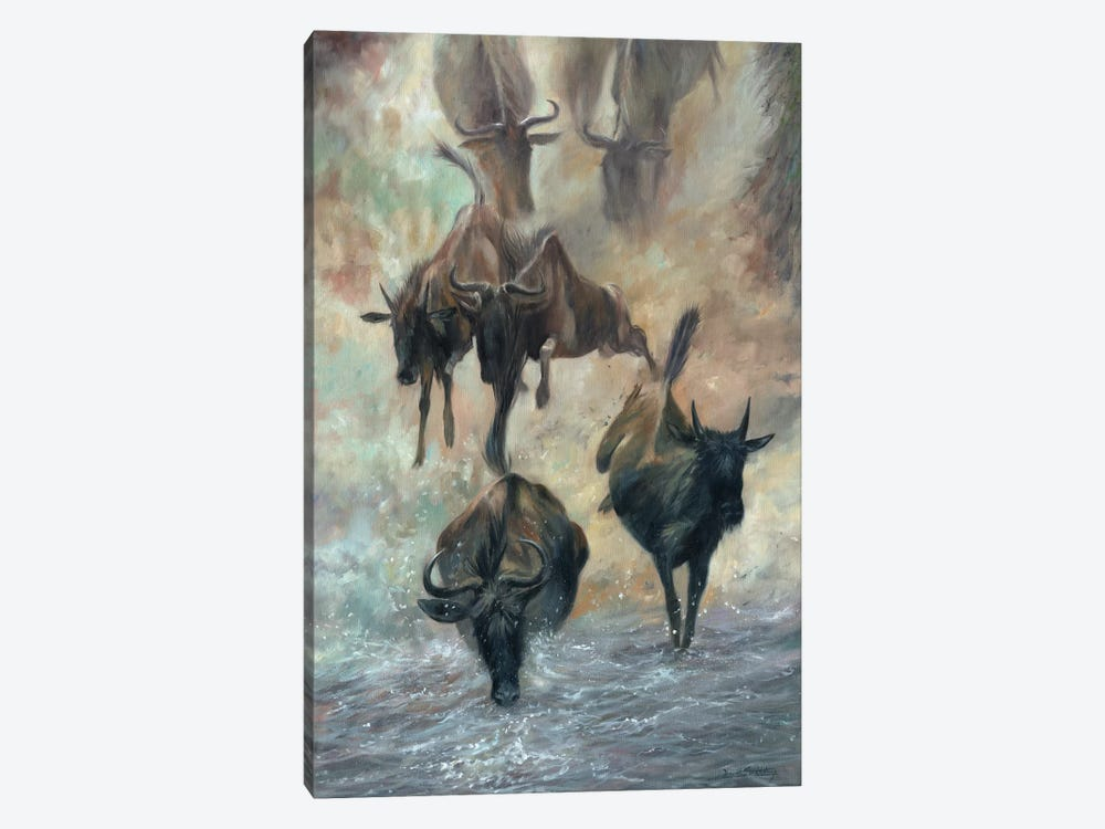 The Great Migration by David Stribbling 1-piece Canvas Print