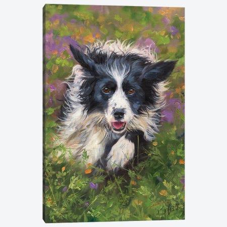 Best Friend Canvas Print #STG286} by David Stribbling Canvas Wall Art