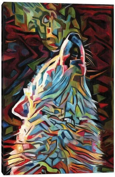 Dream Wolf Canvas Art Print