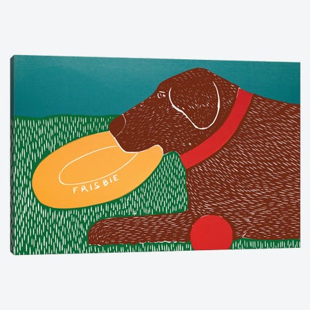 Dog Toys Good Dog Choc Canvas Print #STH140} by Stephen Huneck Canvas Wall Art