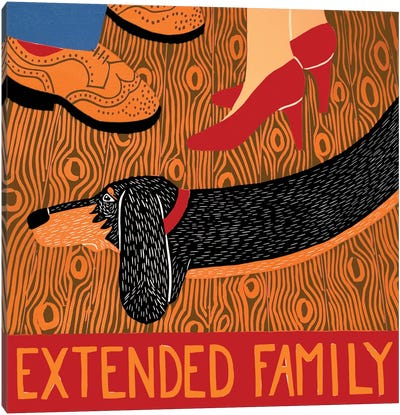 Extended Family Canvas Art Print