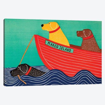 Friendship, Marco Island Canvas Print #STH163} by Stephen Huneck Canvas Art