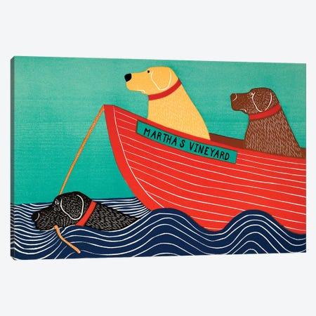 Friendship, Marthas Vineyard Canvas Print #STH164} by Stephen Huneck Art Print