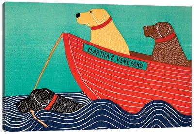 Friendship, Marthas Vineyard Canvas Art Print