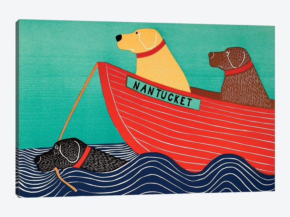 Friendship, Nantucket by Stephen Huneck 1-piece Canvas Wall Art