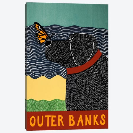 Carmel Outer Banks Canvas Print #STH16} by Stephen Huneck Canvas Art Print