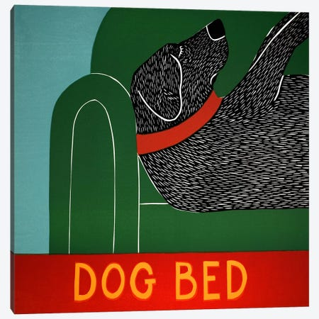 Dog Bed Canvas Print #STH21} by Stephen Huneck Canvas Art Print