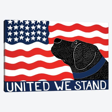 United We Stand Canvas Print #STH225} by Stephen Huneck Canvas Artwork