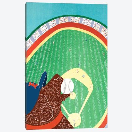 World Champs, Choc Canvas Print #STH235} by Stephen Huneck Art Print