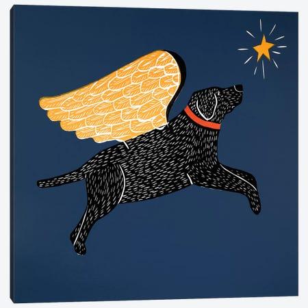 Dreaming Black Canvas Print #STH29} by Stephen Huneck Art Print