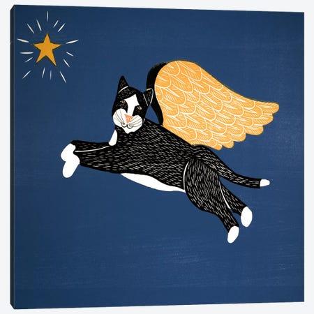 Angel Cat Canvas Print #STH3} by Stephen Huneck Canvas Art