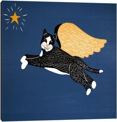 Angel Cat Canvas Art Print