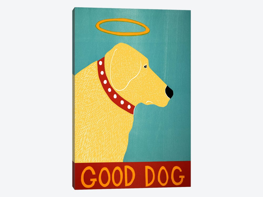 Good Dog Yellow by Stephen Huneck 1-piece Art Print