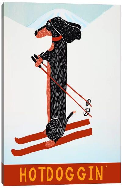 Hotdoggin Canvas Art Print