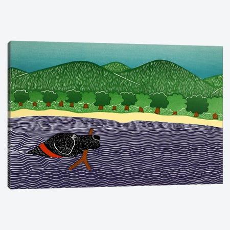 I Like Sticks Canvas Print #STH52} by Stephen Huneck Canvas Art