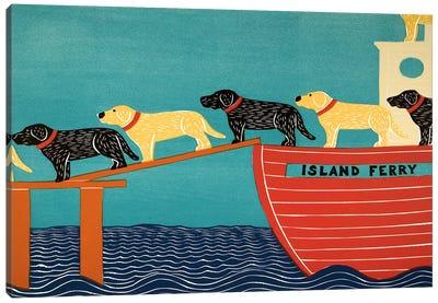 Island Ferry Canvas Art Print