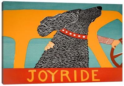 Joyride Black Canvas Art Print