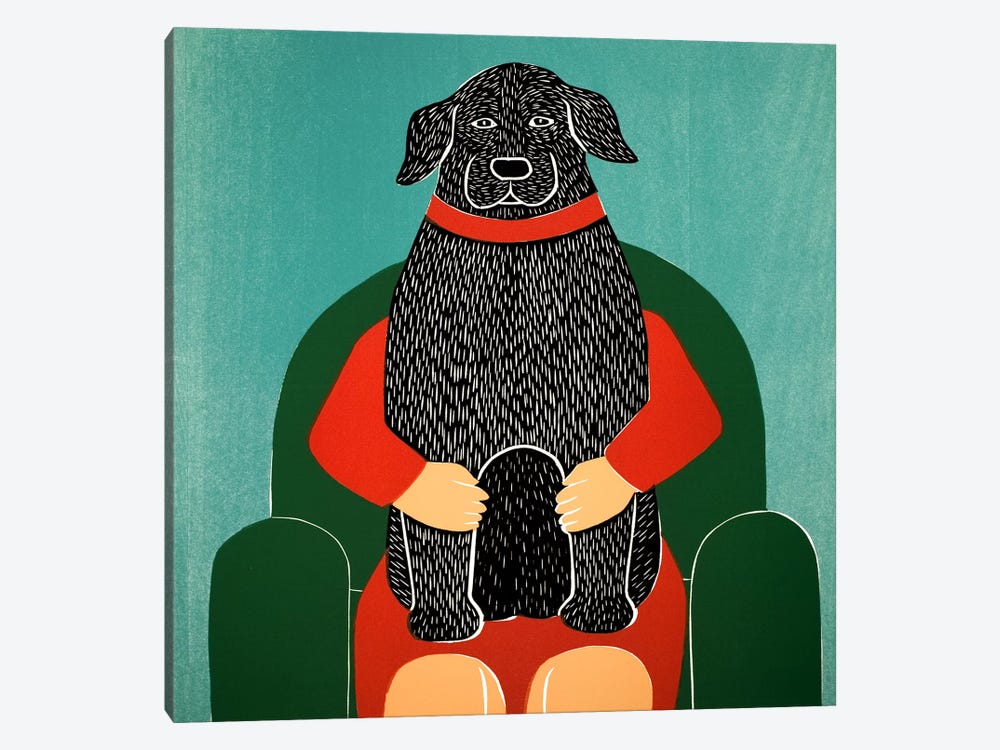 Lap Dog by Stephen Huneck 1-piece Art Print