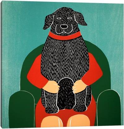 Lap Dog Canvas Art Print