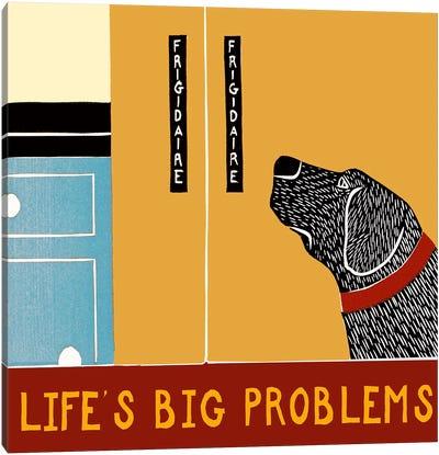 Life's Big Problems Banner Canvas Art Print