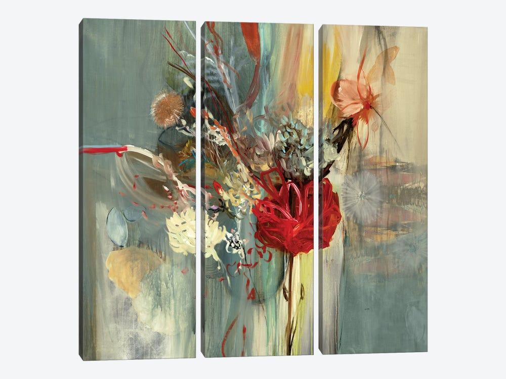 Floral Life by Sarah Stockstill 3-piece Canvas Artwork