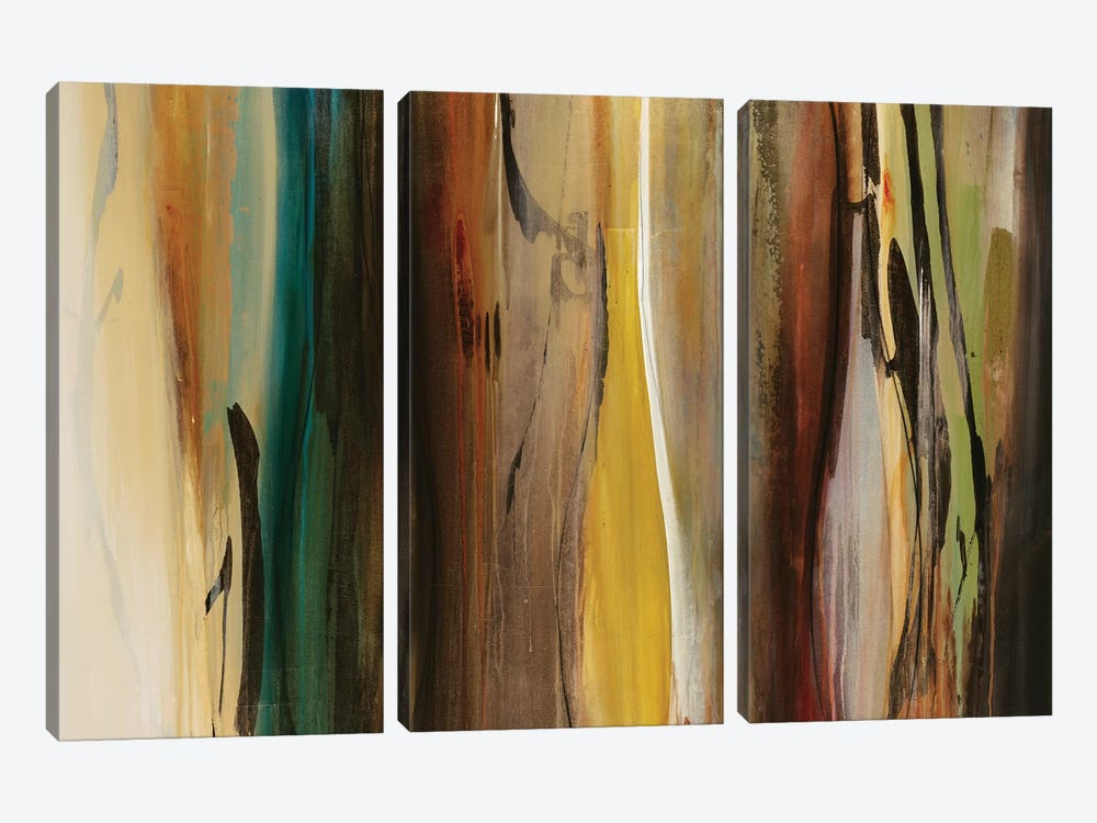Forms In Harmony by Sarah Stockstill 3-piece Canvas Art Print