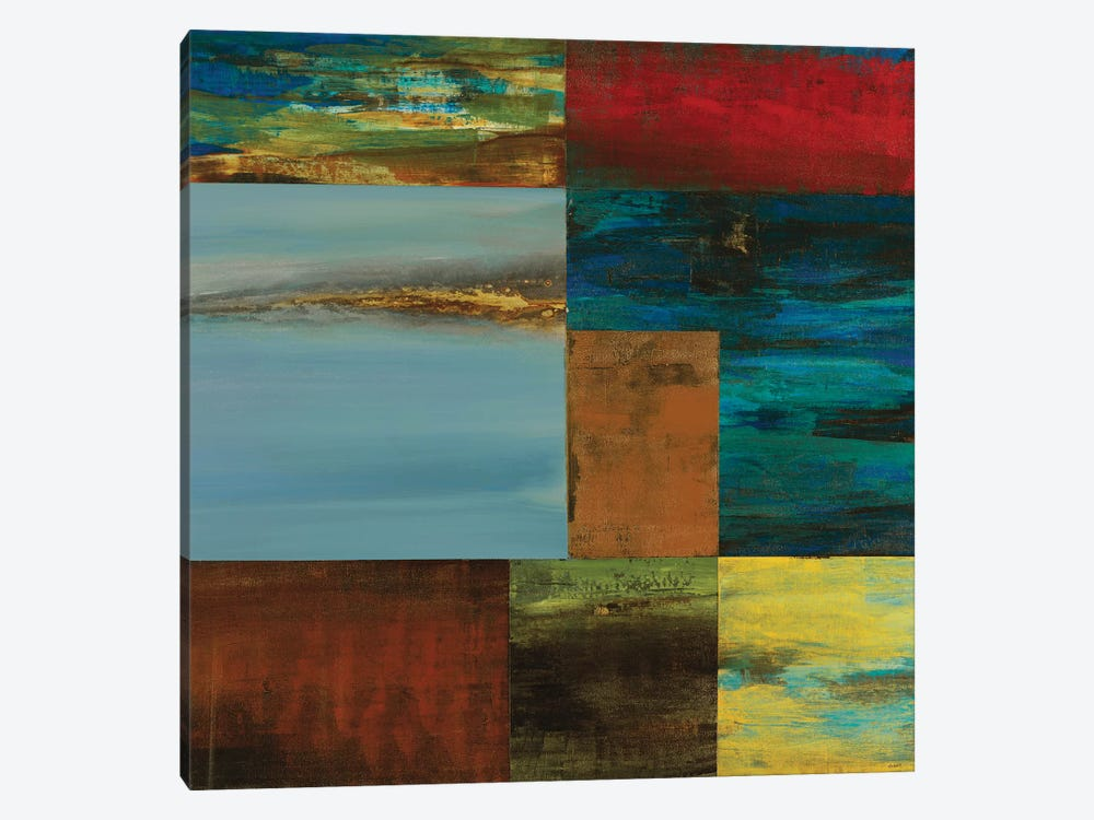 Inch Blue by Sarah Stockstill 1-piece Canvas Artwork